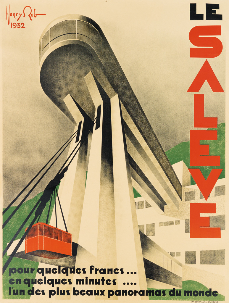HENRY-REB-(1883-1959)-LE-SALEVE-1932-62x47-inches-159x120-cm