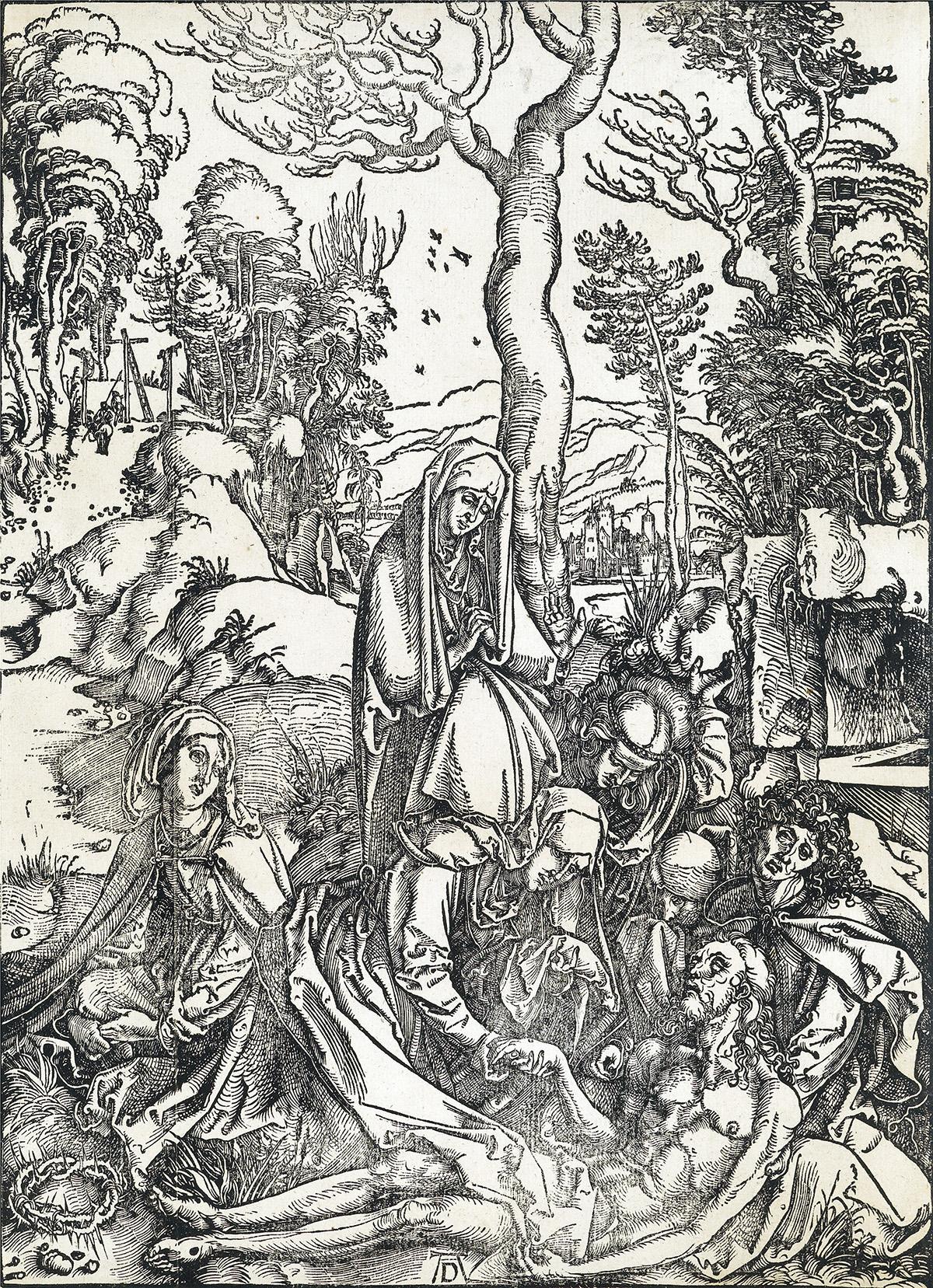 ALBRECHT-DÜRER-The-Lamentation