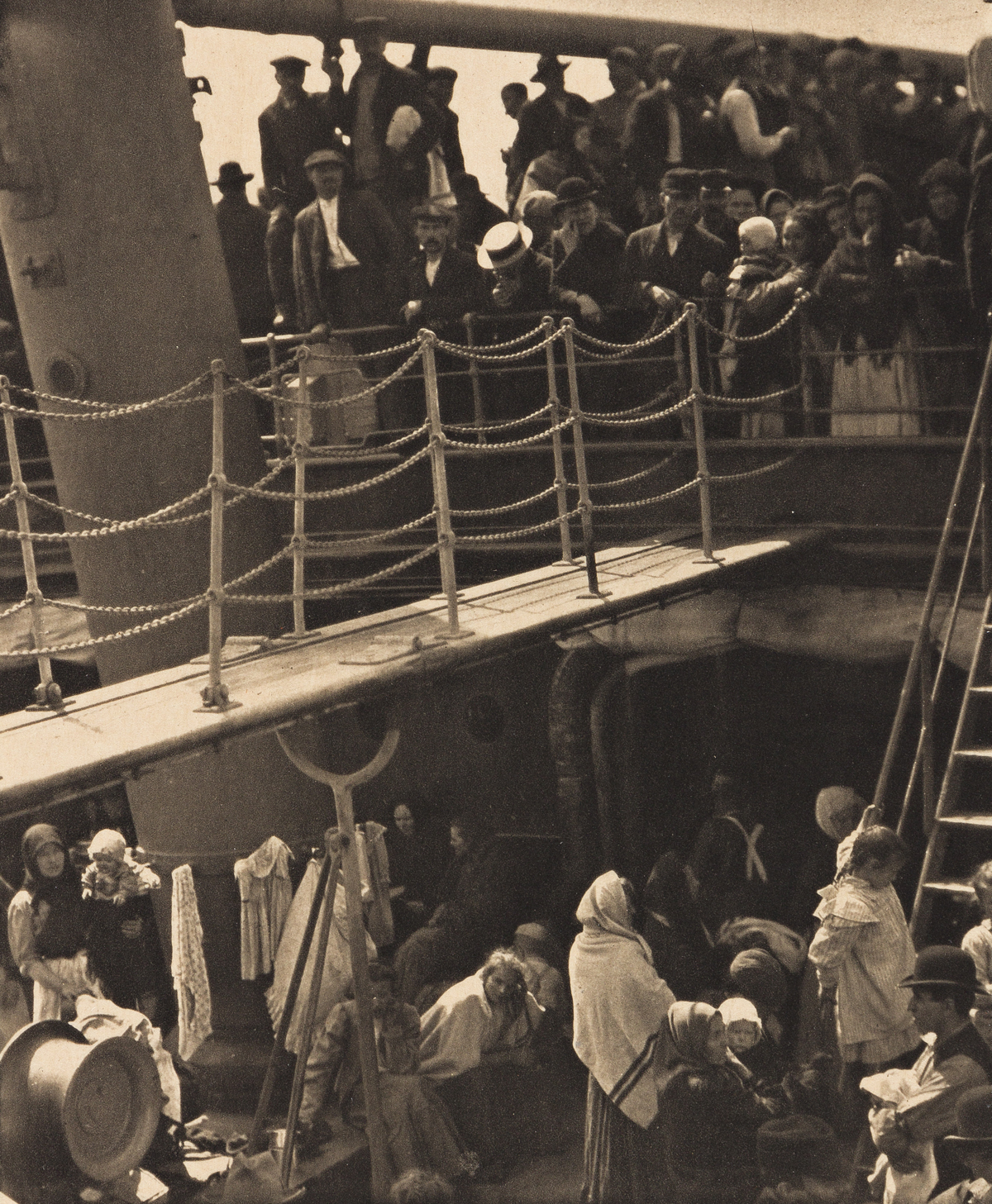 ALFRED STIEGLITZ (1864-1946) The Steerage, from Camera Work, Number 36.