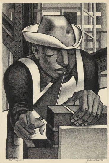 JOHN WILSON (1922 -   ) Trabajador.