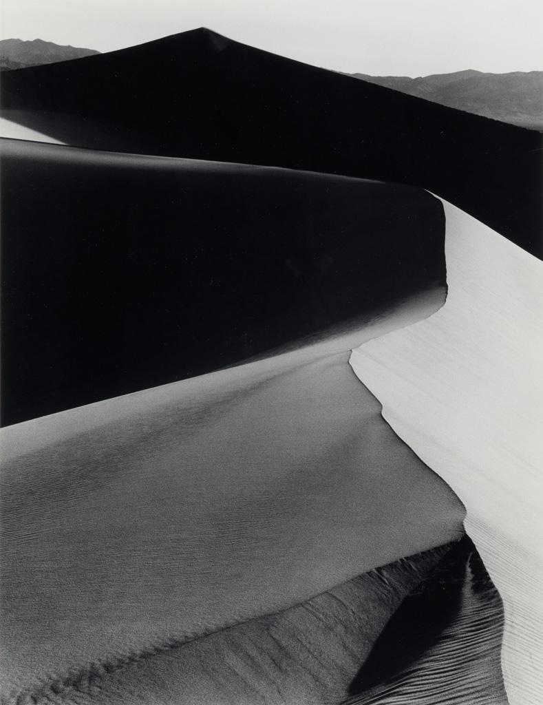 ANSEL ADAMS (1902-1984) Sand Dunes, Sunrise, Death Valley, National Monument, California.