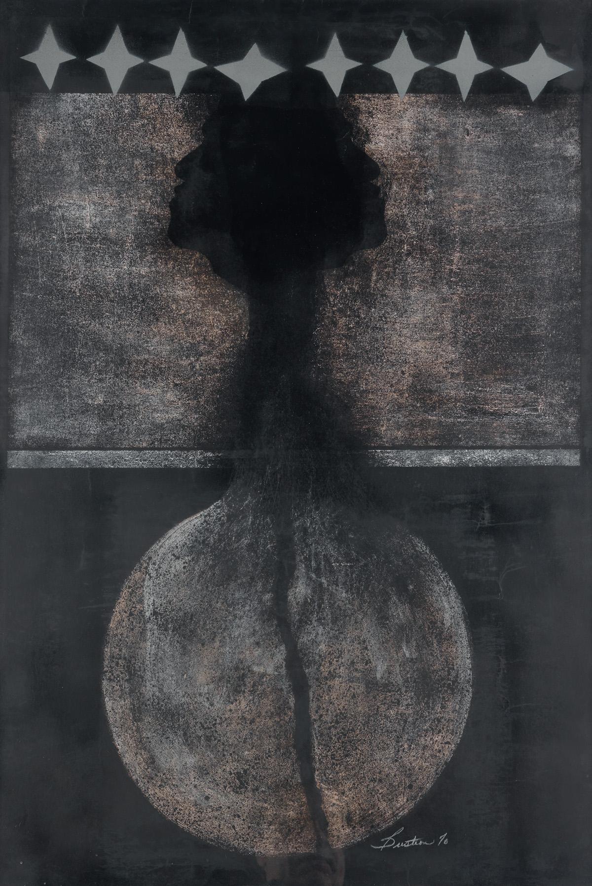 NATHANIEL BUSTION (1942 -   ) Untitled.