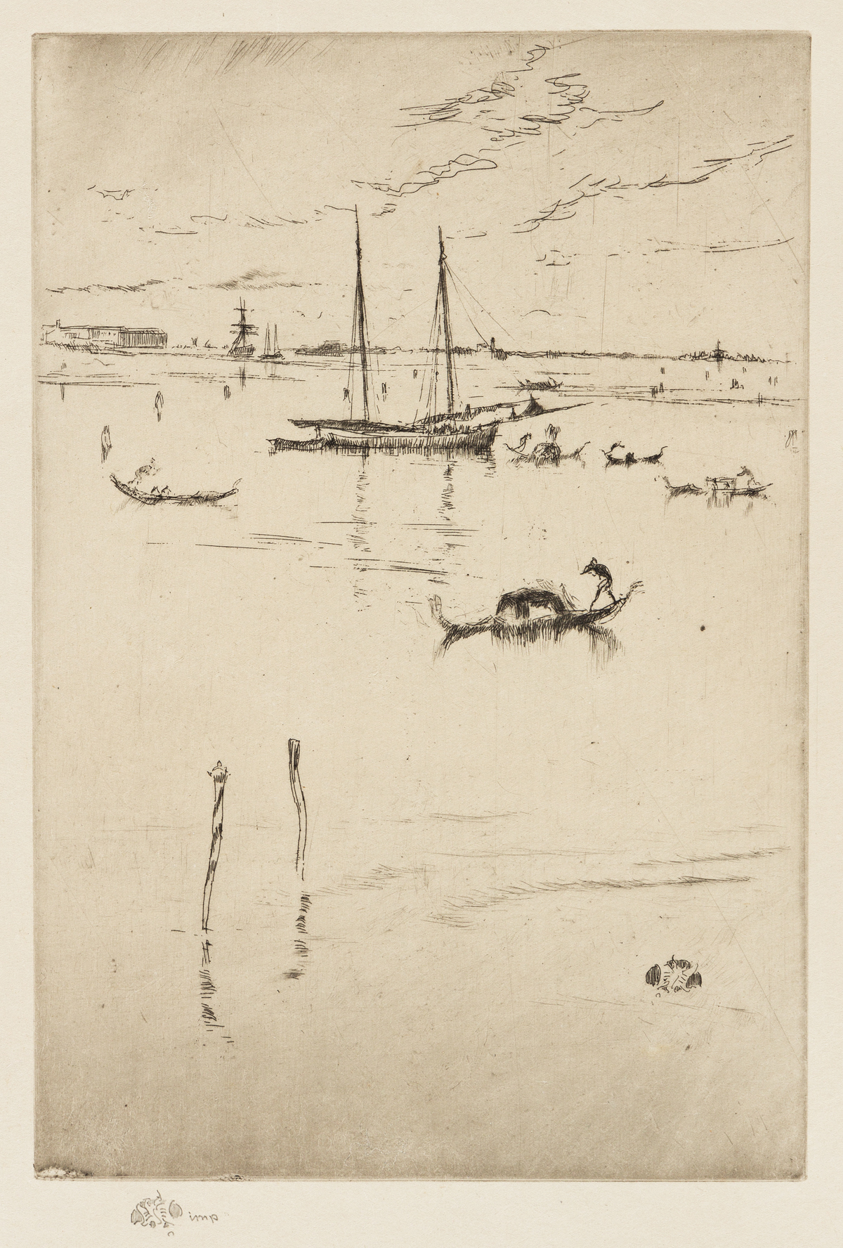 JAMES A. M. WHISTLER The Little Lagoon.