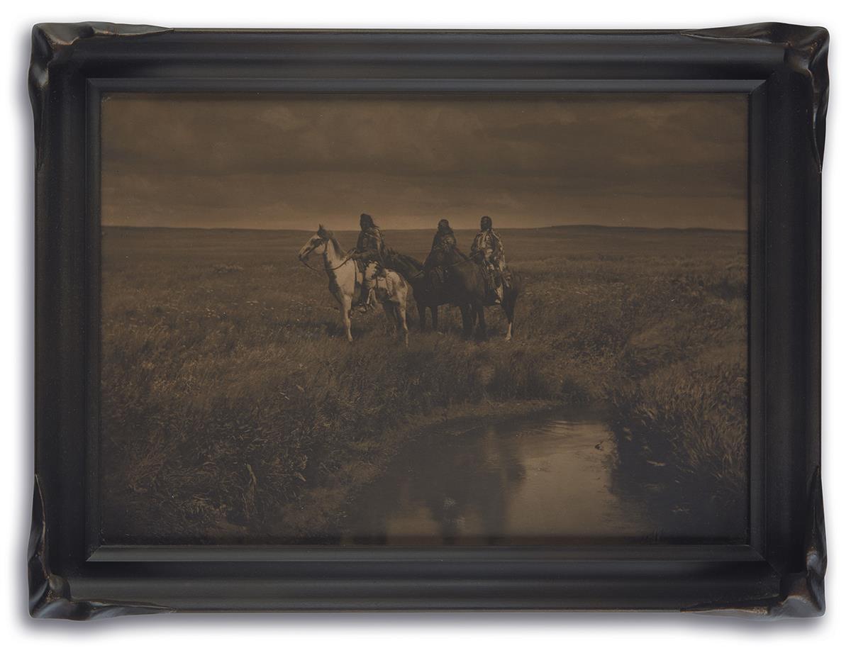 EDWARD S. CURTIS (1868-1952) Three Chiefs, Piegan.