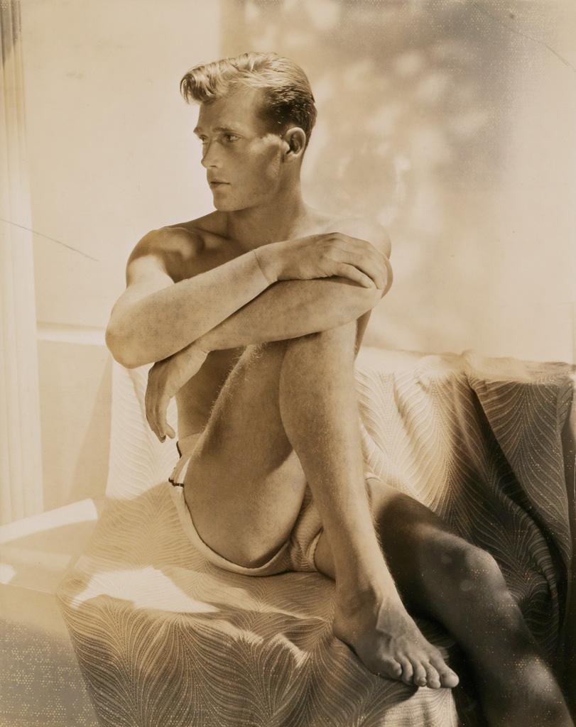 HORST P. HORST (1906-1999) Portrait of a handsome man (Fred).