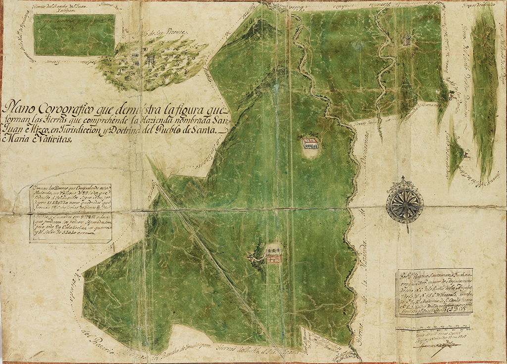 (MEXICAN MANUSCRIPTS.) Archive relating to land sales in Tlaxcala, mostly relating to the San Juan Mixco hacienda.
