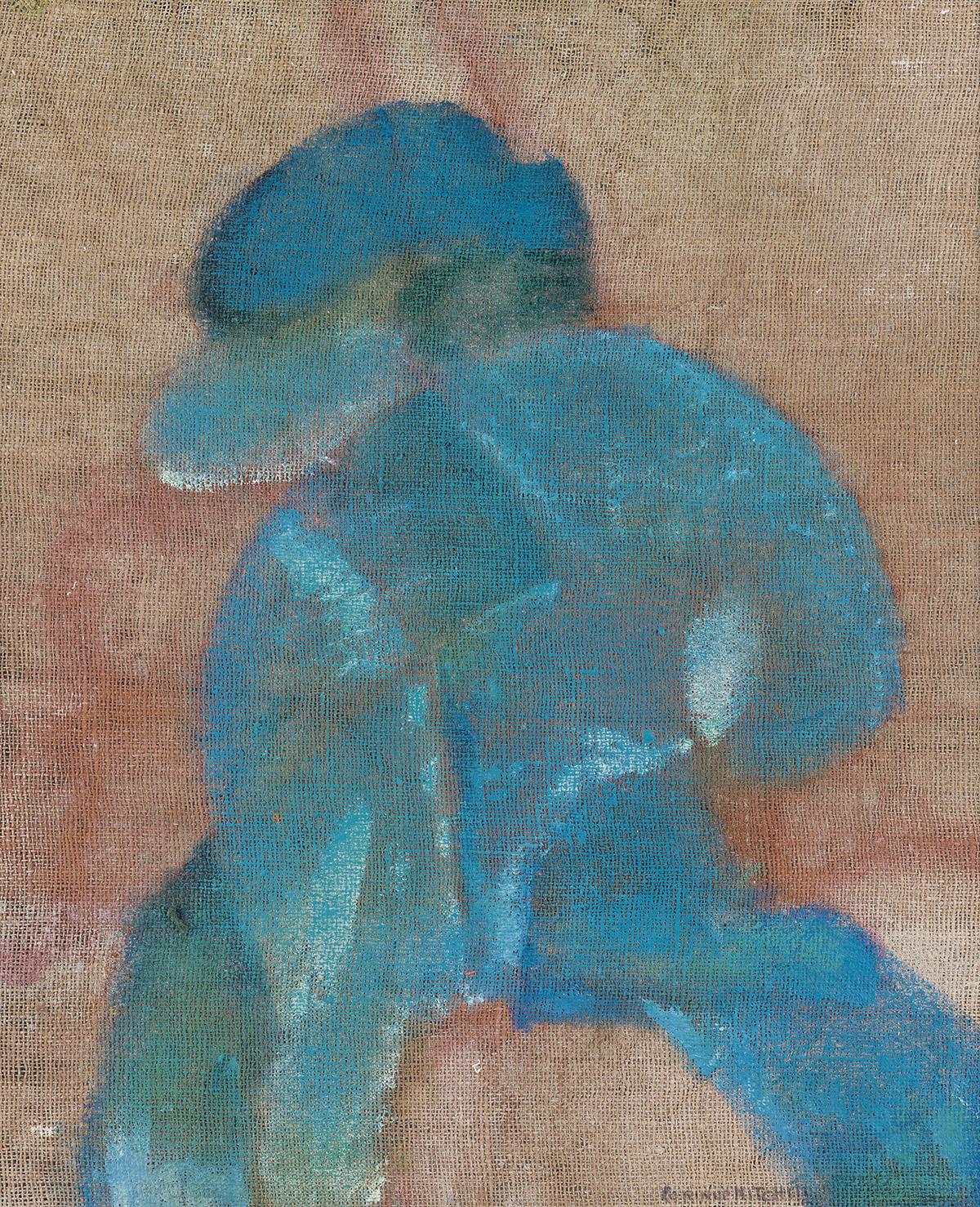 CORRINE MITCHELL (1914 - 1993) Man Hurrying Home.