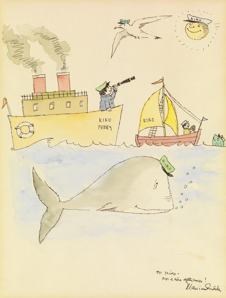 MAURICE SENDAK. Kikos Ferryboat.