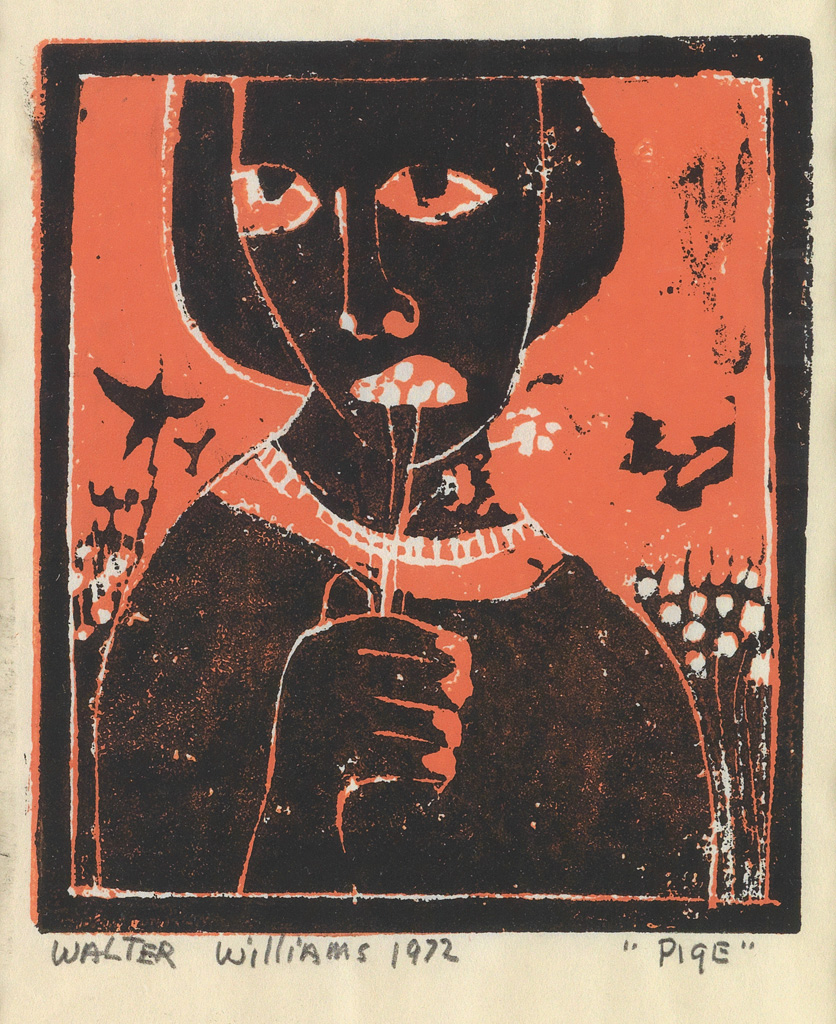 WALTER WILLIAMS (1920 - 1988) Pige (Girl).