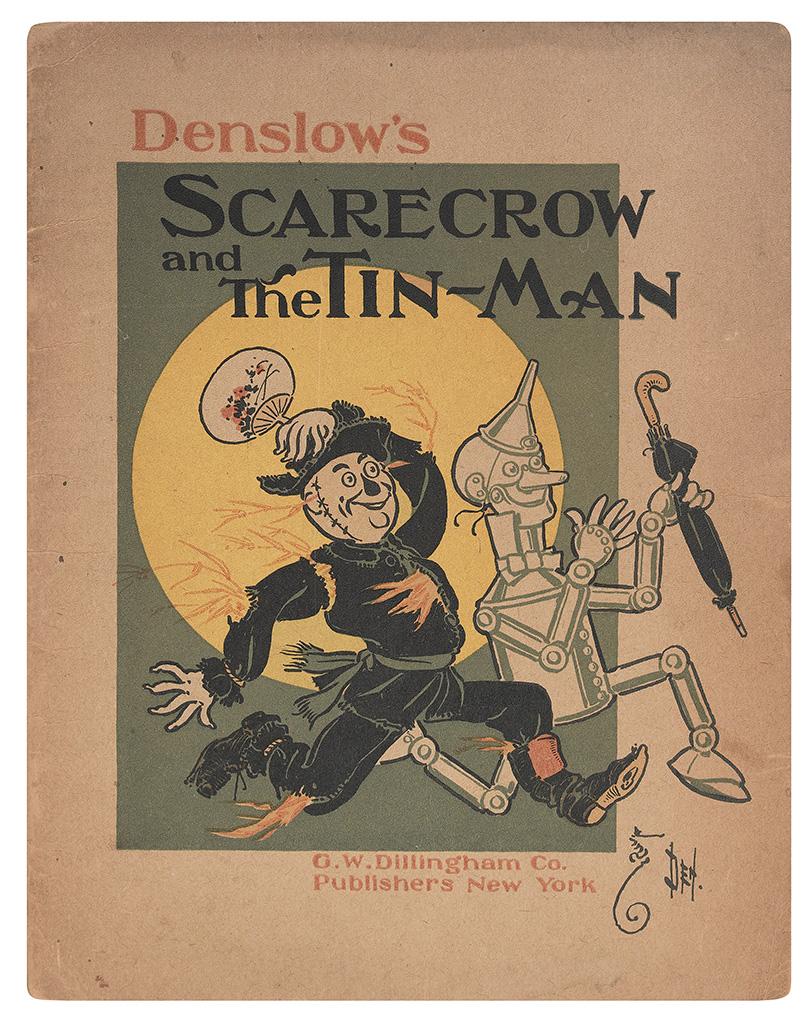 (CHILDRENS-LITERATURE)-Denslow-WW-Denslows-Scarecrow-and-The-Tin-Man