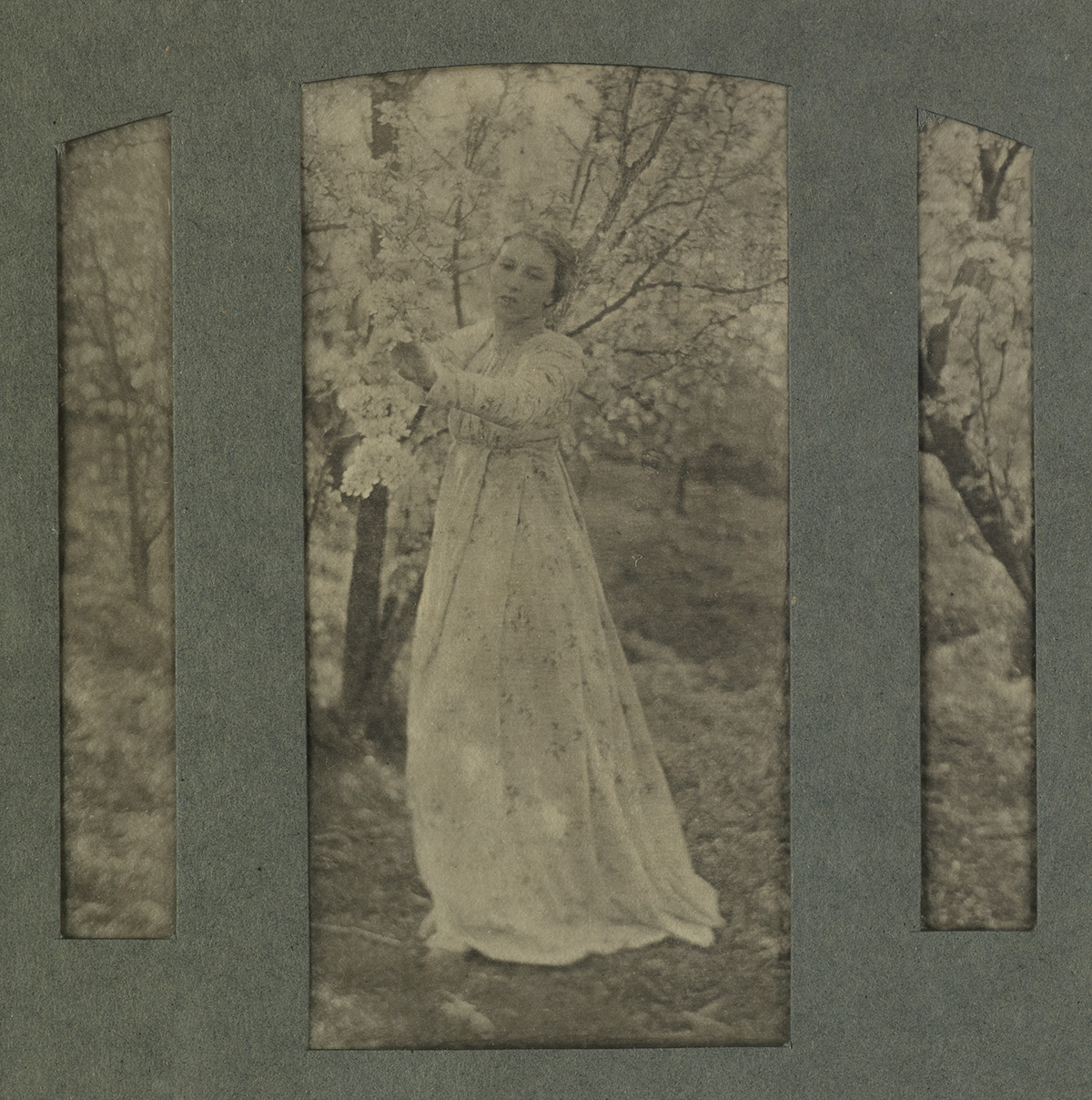 CLARENCE WHITE (1871-1925) Spring.