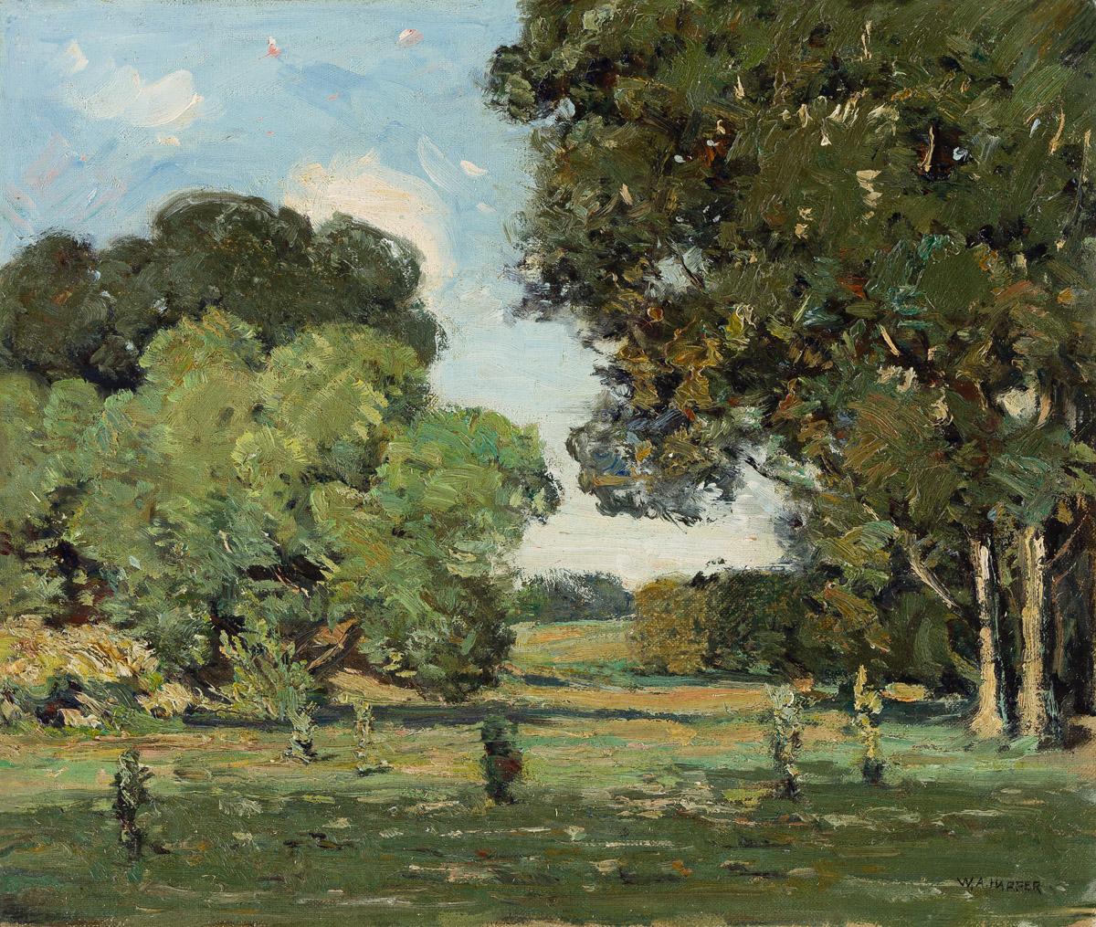 WILLIAM A. HARPER (1873 - 1910) Untitled (Landscape).