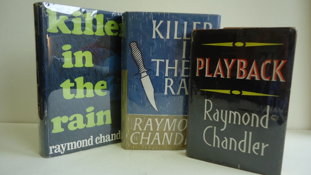 CHANDLER-RAYMOND-Group-of-3-First-Editions