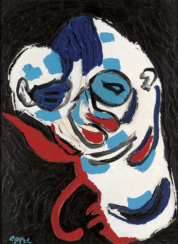 KAREL APPEL Clown.
