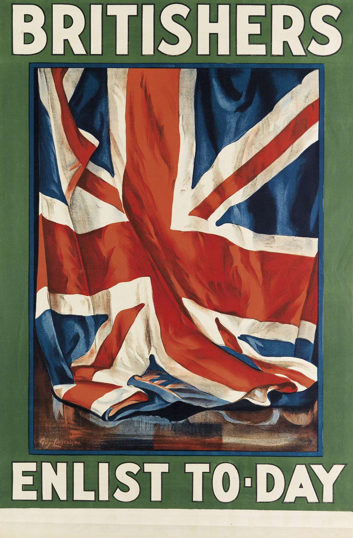 GUY-LIPSCOMBE-(1881-1952)-BRITISHERS--ENLIST-TO---DAY-1915-4