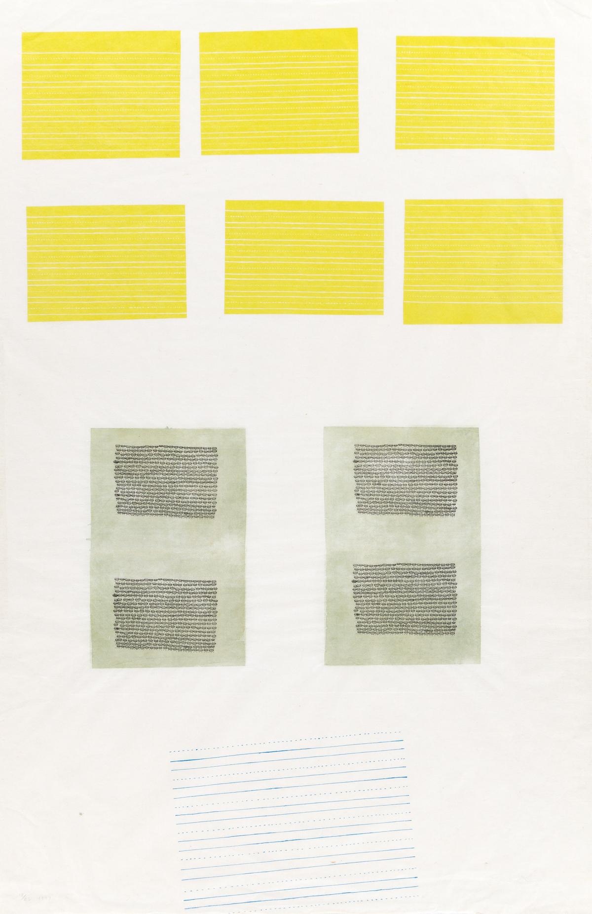 ELLEN GALLAGHER (1965 - ) Untitled.