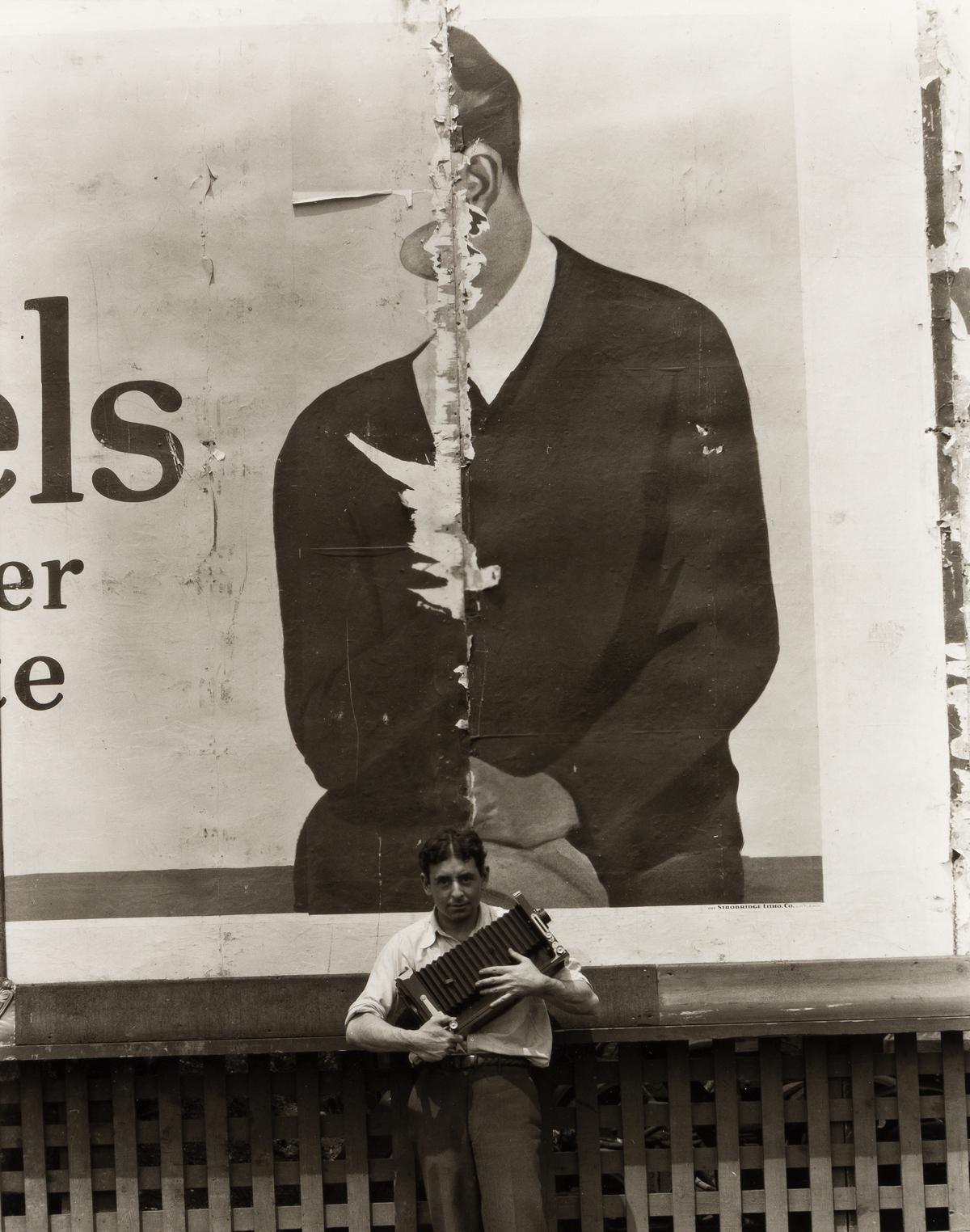 RALPH STEINER (1899-1986) Self-portrait.