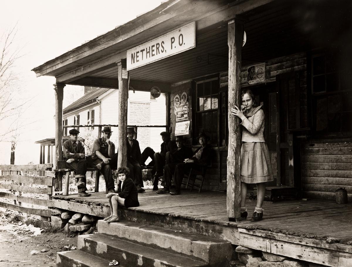 ARTHUR ROTHSTEIN (1915-1985) Post office, Nethers, Virginia.