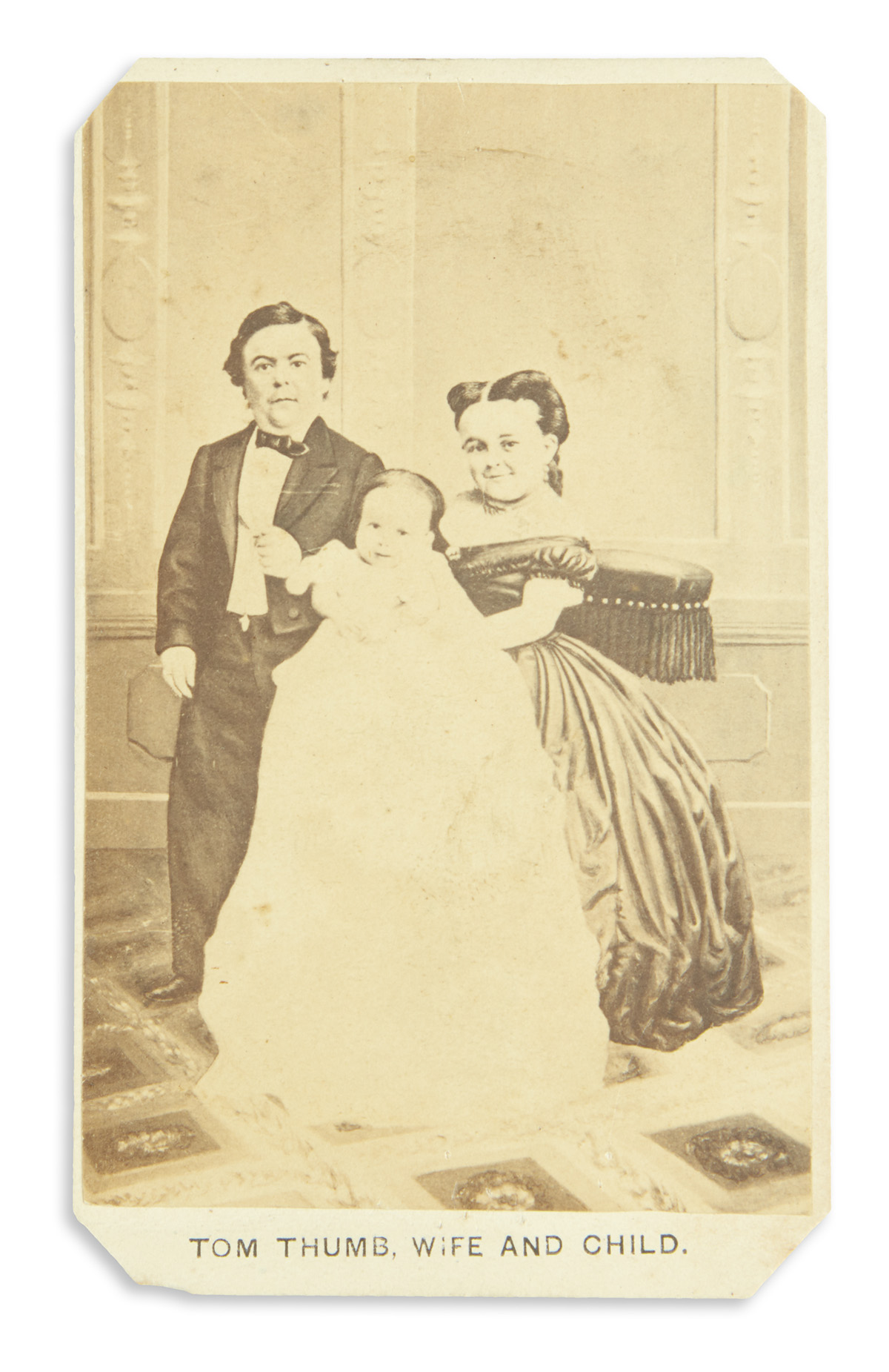 (CIRCUS.) Group of 5 items relating to Charles Stratton (better known as General Tom Thumb) and other performers.