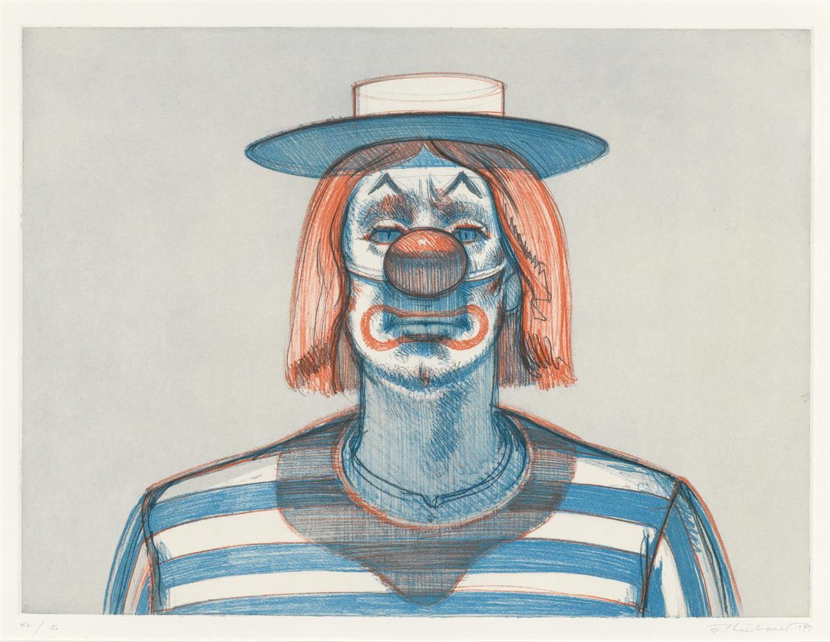 WAYNE-THIEBAUD-Clown