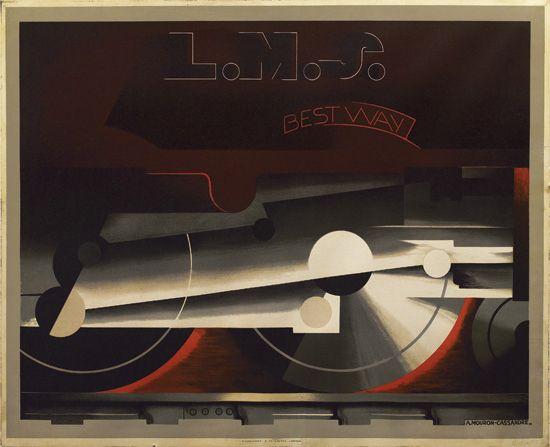 ADOLPHE-MOURON-CASSANDRE-(1901-1968)-LMS--BEST-WAY-1928-41x5
