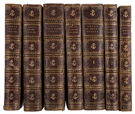 (ARCTIC.) Parry, William Edward, Sir. Journal of a Voyage for the Discovery of a North-West Passage from the Atlantic