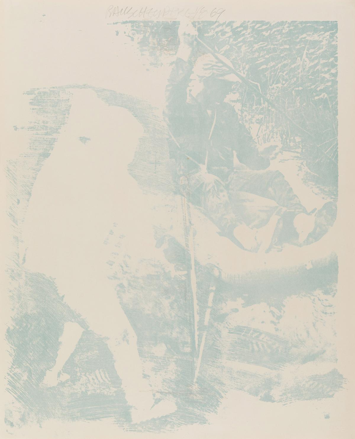 ROBERT RAUSCHENBERG Tilt.