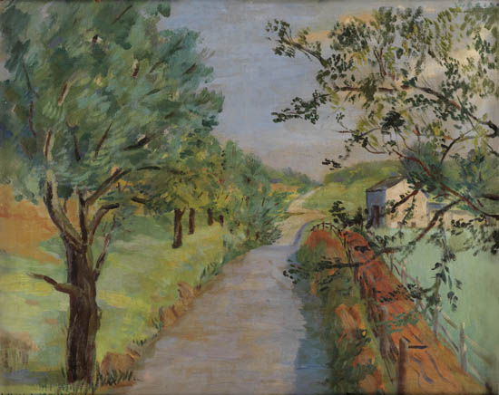 LAURA-WHEELER-WARING-(1887---1948)-Untitled-(Rural-Landscape