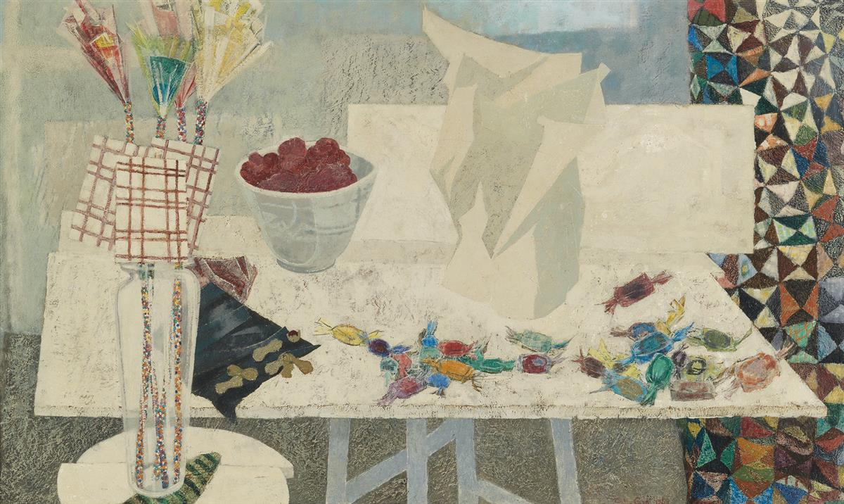 CHARLES MCGEE (1924 -   ) Untitled (Table Top Still Life).