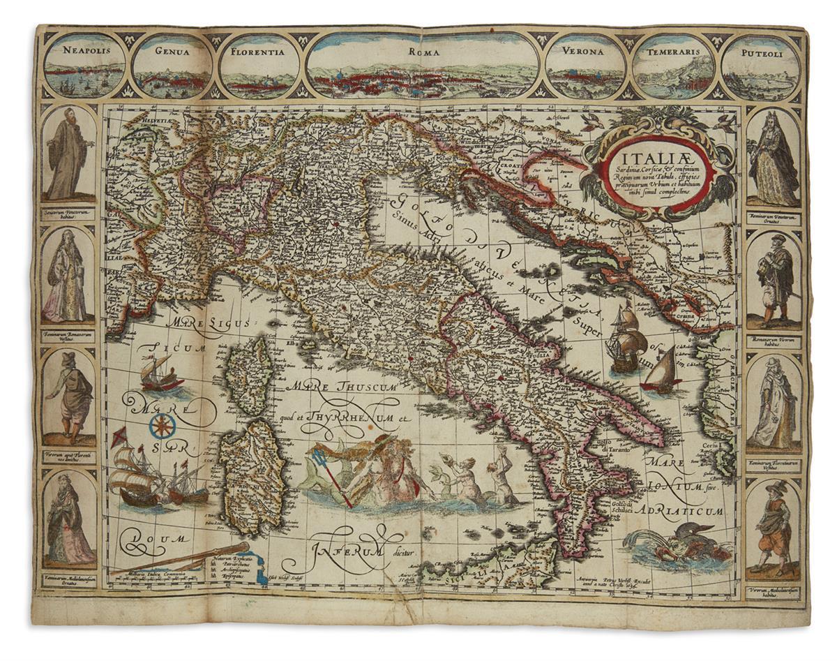 VERBIEST-PIETER-Italiae-Sardiniae-Corsicae--Confinium-Regiorum-Nova-Tabula