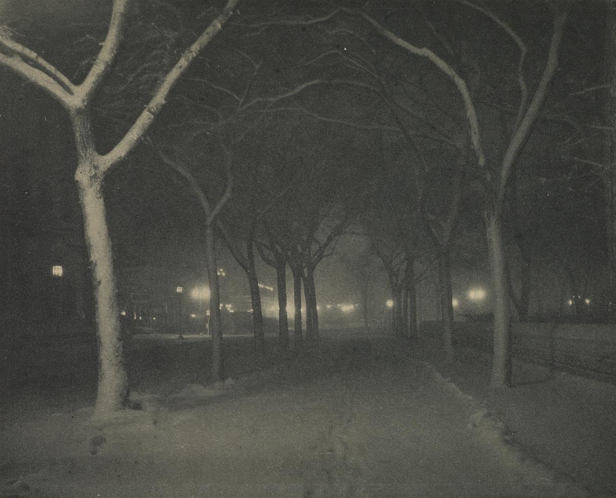 ALFRED-STIEGLITZ-(1864-1946)-An-Icy-Night-from-Camera-Work-N