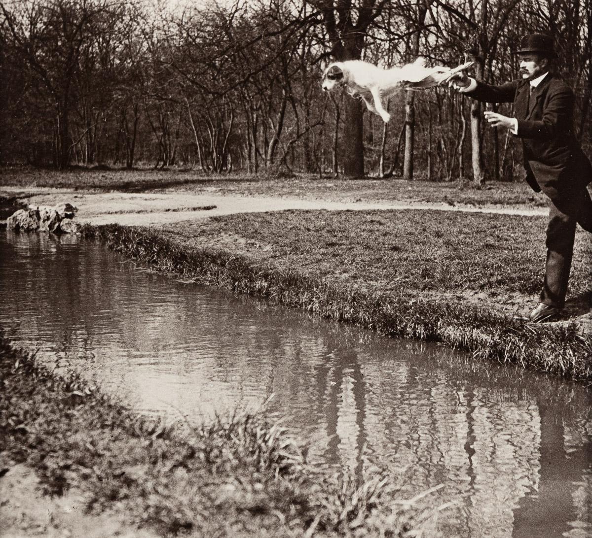 JACQUES-HENRI LARTIGUE (1894-1986) M. Folletête (Plitt) and Tupy.