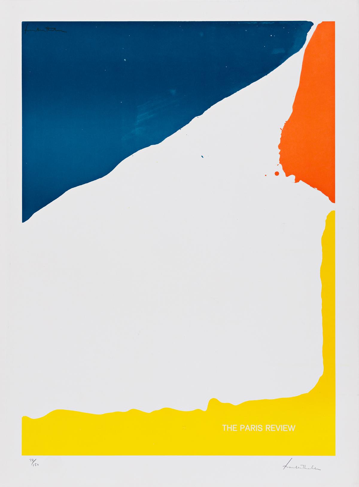 HELEN FRANKENTHALER Paris Review Poster.