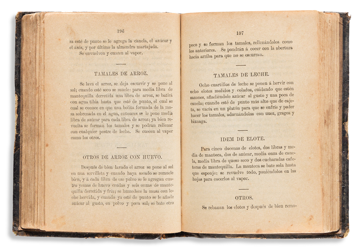 (MEXICAN COOKERY.) Recetas practicas para la señora de la casa, sobre cocina, reposteria, pasteles, neveria, etc.
