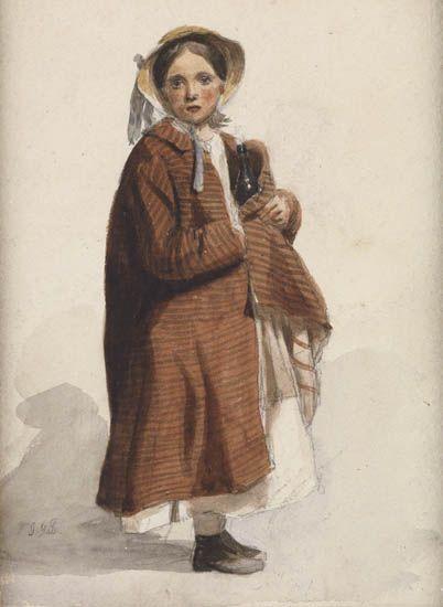 JOHN-GEORGE-BROWN-Young-Girl