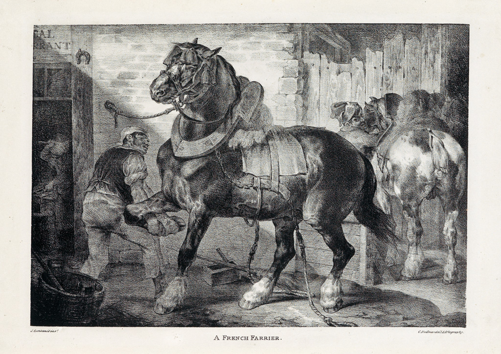 THÉODORE-GÉRICAULT-A-French-Farrier