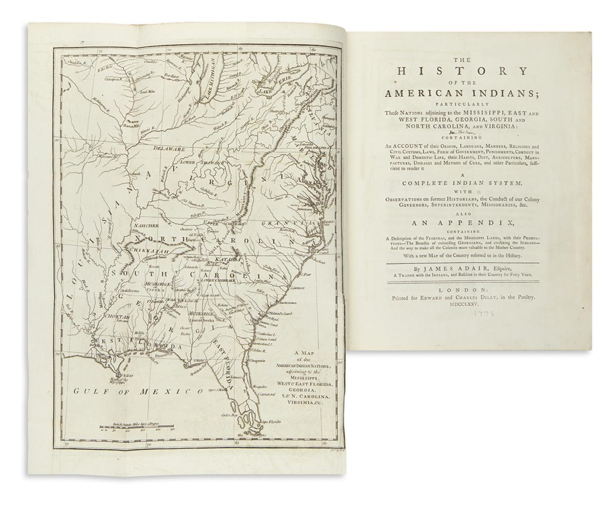 (AMERICAN-INDIANS)-Adair-James-History-of-the-American-India
