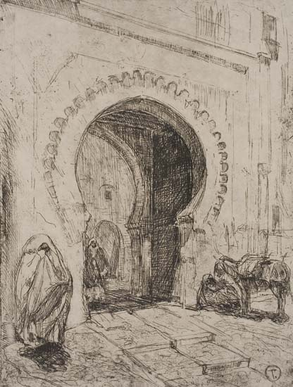HENRY-OSSAWA-TANNER-(1859--1937)-Gateway-to-Tangiers