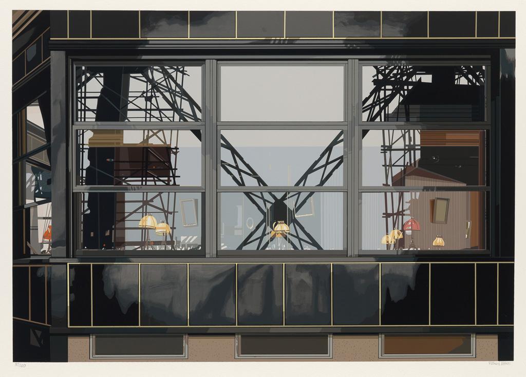RICHARD ESTES Urban Landscapes No. 3.