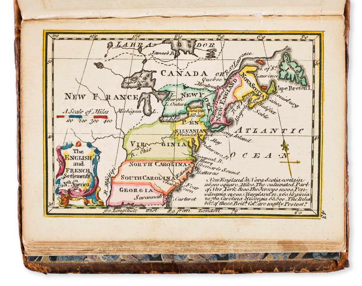 GIBSON, JOHN; and BOWEN, EMANUEL. Atlas Minimus, or a New Set of Pocket Maps