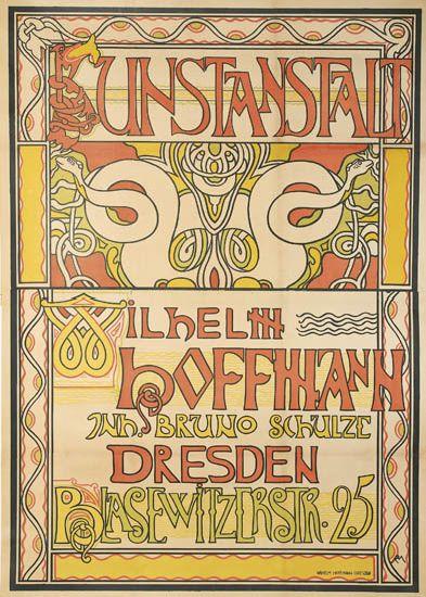 RICHARD-MÜLLER-(1874-1954)-KUNSTANSTALT--WILHELM-HOFFMANN-1896-57x41-inches-146x104-cm-Wilhelm-Hoffmann-Dresden