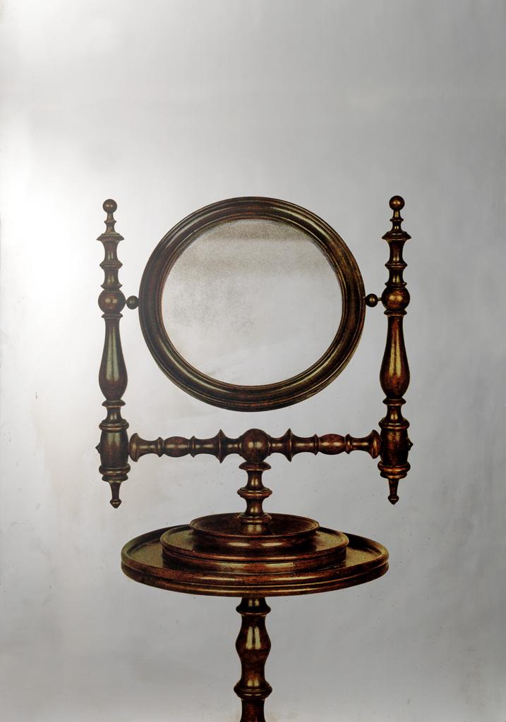 MICHELANGELO PISTOLETTO Specchio da Toeletta.