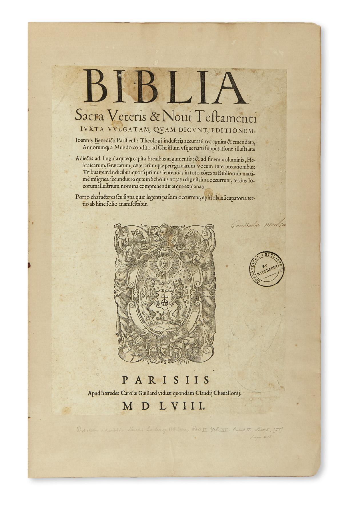 BIBLE-IN-LATIN--Biblia-sacra-veteris--novi-testamenti-iuxta-
