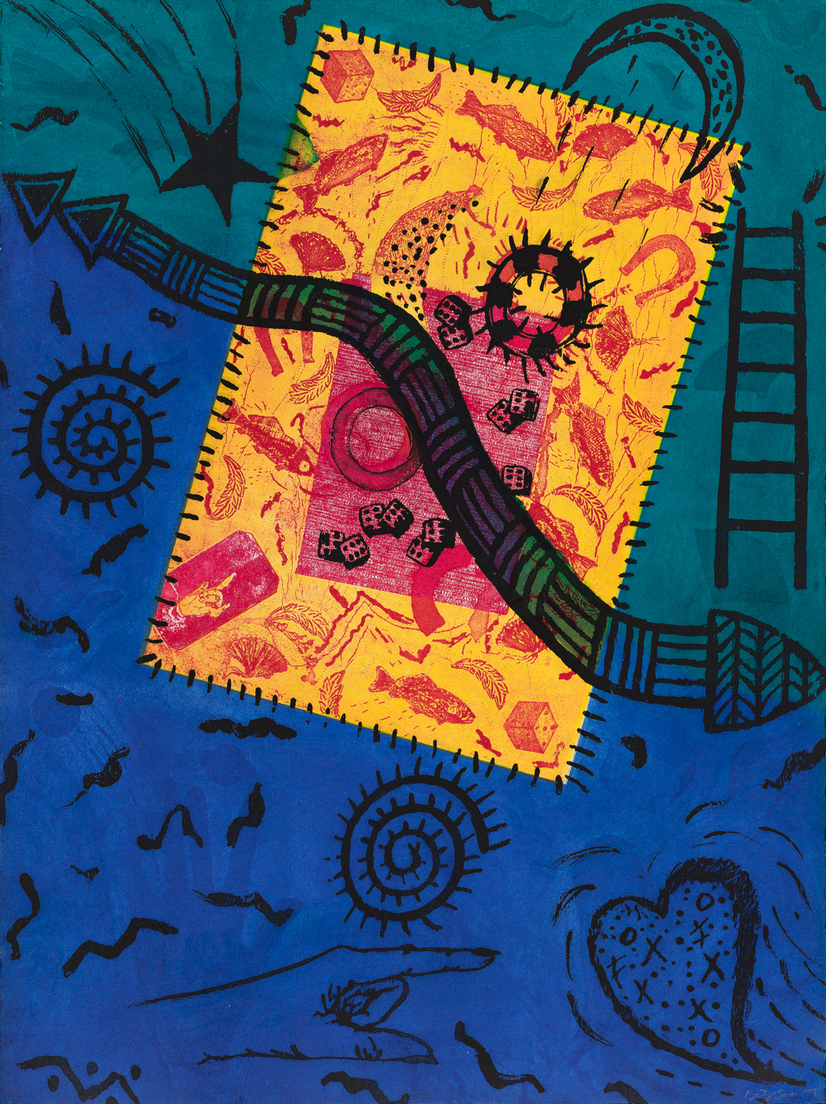 BETYE SAAR (1926 - ) Return to Dreamtime.