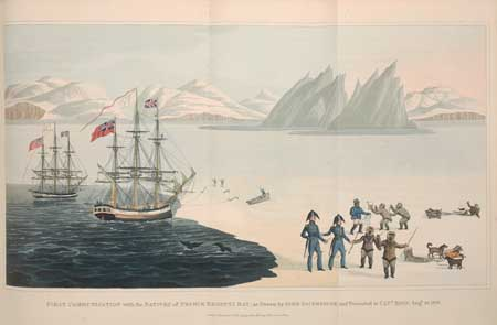 (ARCTIC.) Ross, John, Sir. A Voyage of Discovery, made under the Orders of the Admiralty . . .