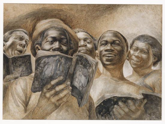 CHARLES WHITE (1918 - 1979) Songs of Life.