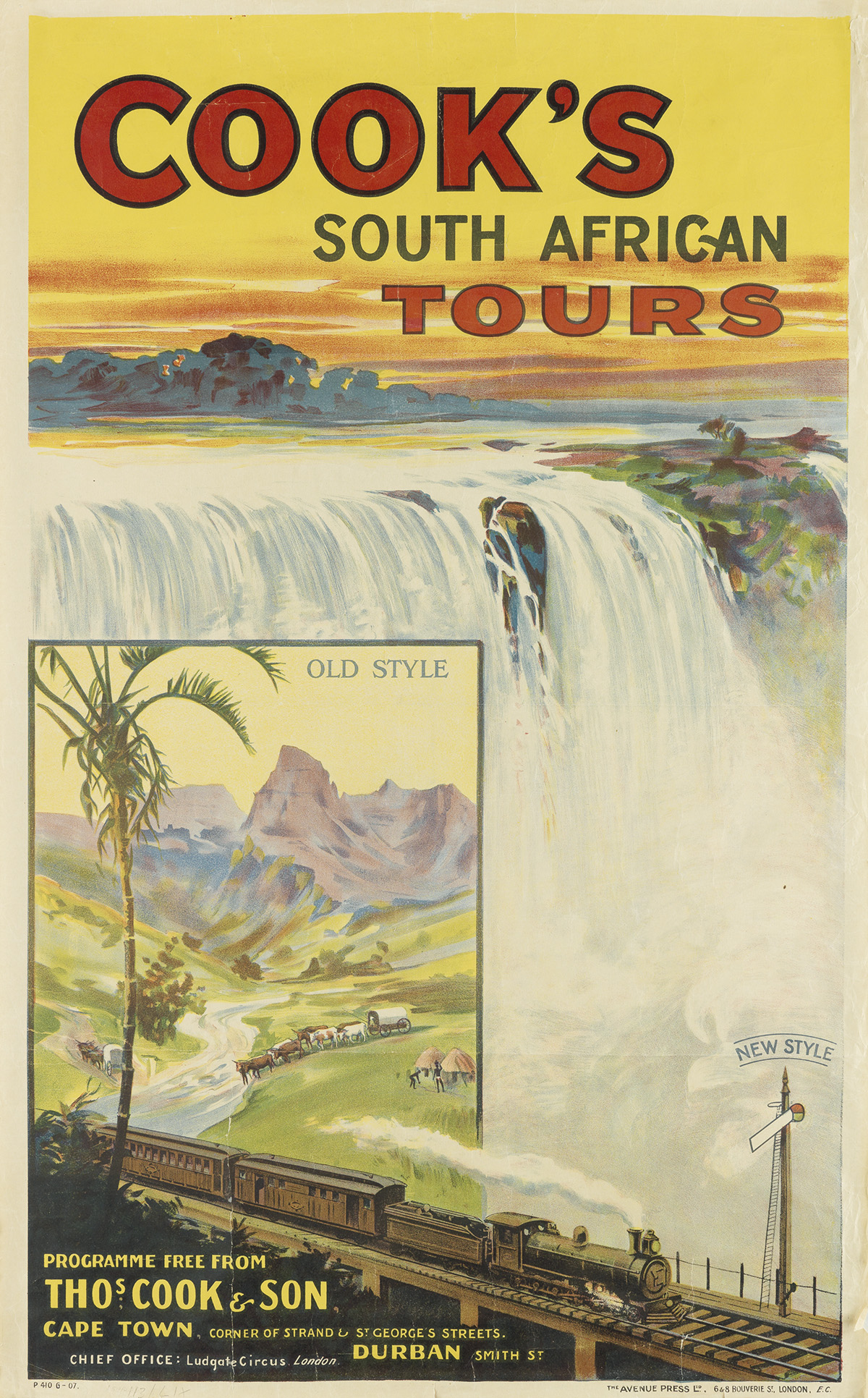 DESIGNER-UNKNOWN-COOKS-SOUTH-AFRICAN-TOURS-1907-40x25-inches