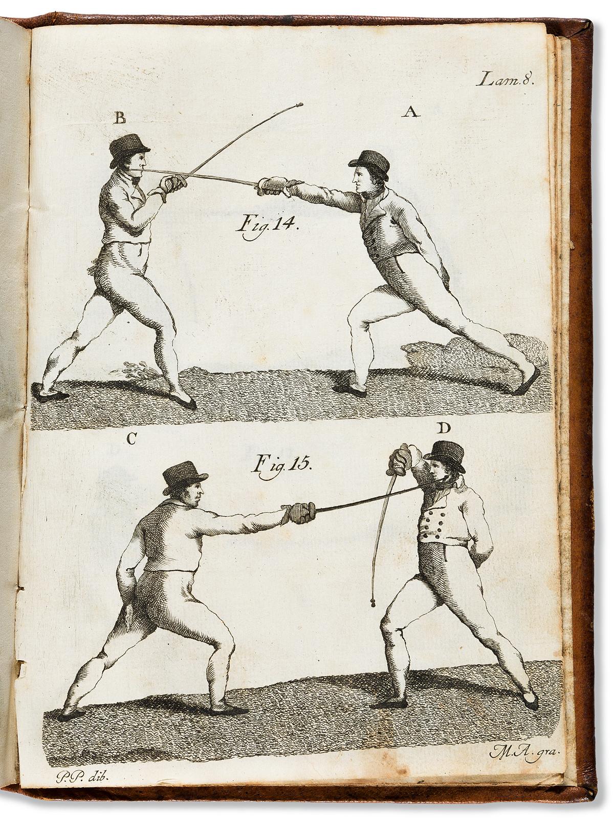 (MEXICAN IMPRINT--1809.) Simón de Frías. Tratado elemental de la destreza del sable.