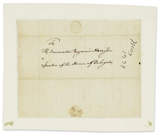 HENRY-PATRICK-Autograph-Letter-Signed-P-Henry-as-Governor-of