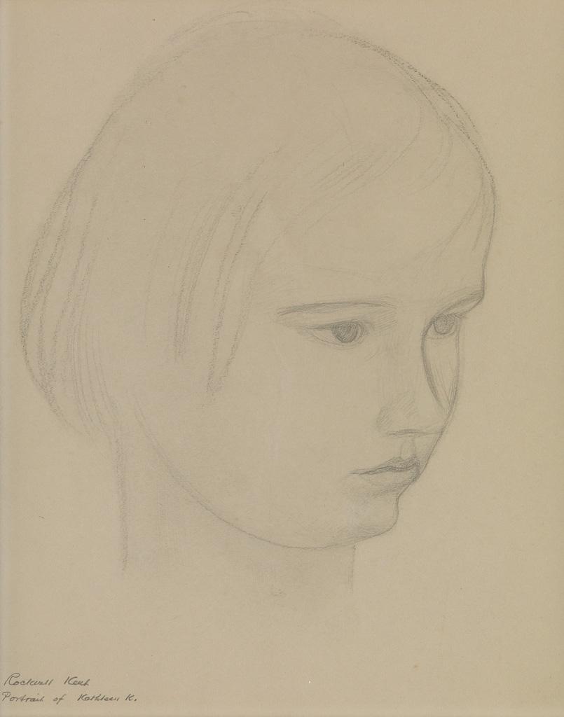 ROCKWELL-KENT-Portrait-of-Kathleen